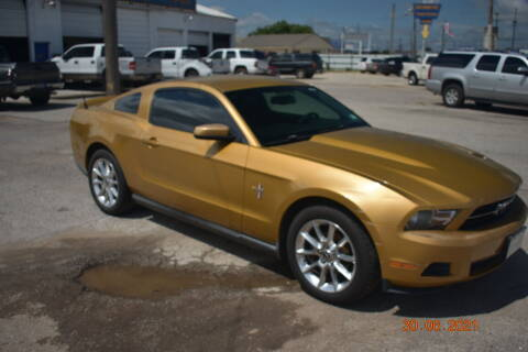 2010 Ford Mustang for sale at WF AUTOMALL in Wichita Falls TX
