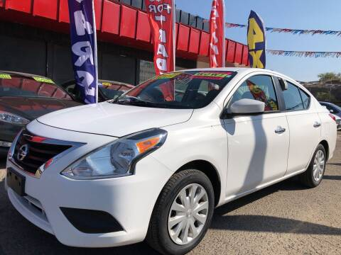 2017 Nissan Versa for sale at Duke City Auto LLC in Gallup NM