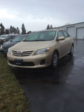 2013 Toyota Corolla for sale at Atlas Automotive Sales in Hayden ID