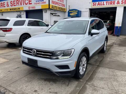 2018 Volkswagen Tiguan for sale at US Auto Network in Staten Island NY