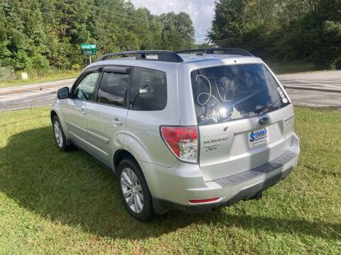 2011 Subaru Forester for sale at UpCountry Motors in Taylors SC