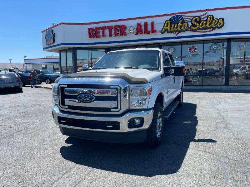 2015 Ford F-250 Super Duty for sale at Better All Auto Sales in Yakima WA