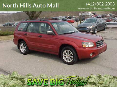 2005 Subaru Forester for sale at North Hills Auto Mall in Pittsburgh PA