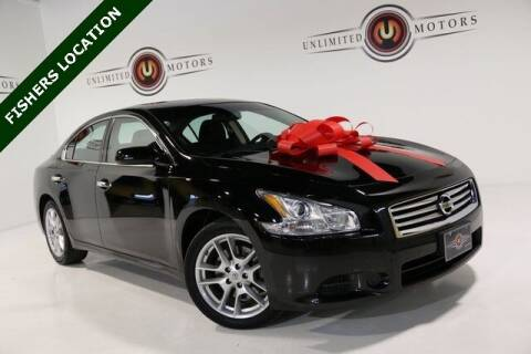 2014 Nissan Maxima for sale at Unlimited Motors in Fishers IN