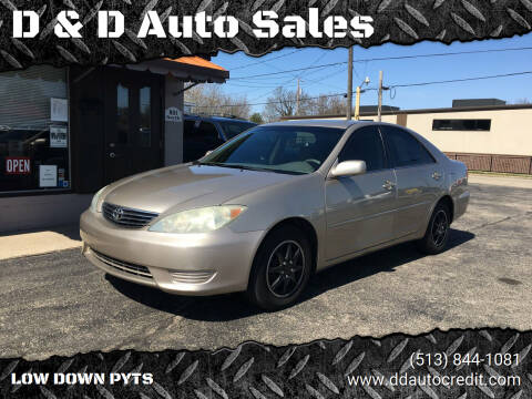 2005 Toyota Camry for sale at D & D Auto Sales in Hamilton OH