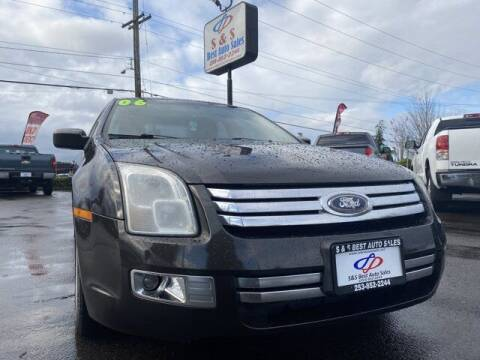 2006 Ford Fusion for sale at S&S Best Auto Sales LLC in Auburn WA
