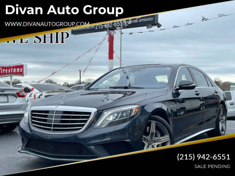 2014 Mercedes-Benz S-Class for sale at Divan Auto Group in Feasterville Trevose PA