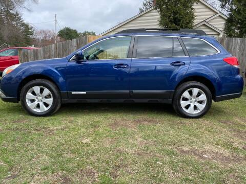 2010 Subaru Outback for sale at ALL Motor Cars LTD in Tillson NY