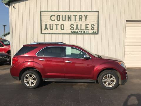 2011 Chevrolet Equinox for sale at COUNTRY AUTO SALES LLC in Greenville OH