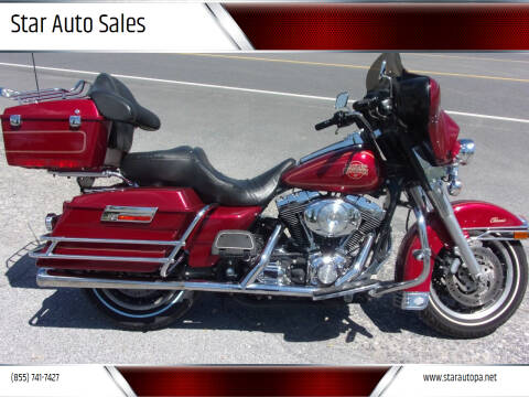 2004 Harley-Davidson Electra Glide for sale at Star Auto Sales in Fayetteville PA