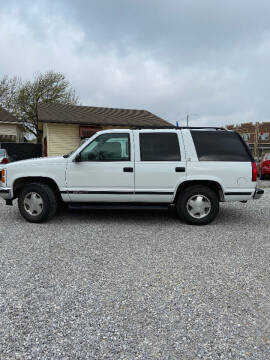 1999 GMC Yukon for sale at Heersche Auto Sales in Wichita KS