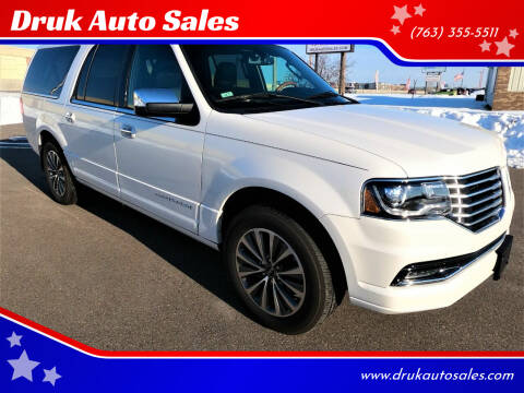 2015 Lincoln Navigator L for sale at Druk Auto Sales in Ramsey MN