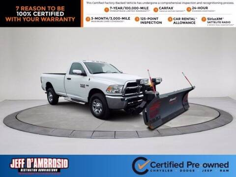 2016 RAM Ram Pickup 2500 for sale at Jeff D'Ambrosio Auto Group in Downingtown PA