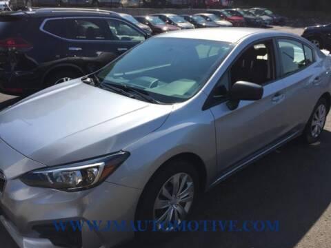 2017 Subaru Impreza for sale at J & M Automotive in Naugatuck CT