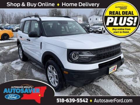 2021 Ford Bronco Sport for sale at Autosaver Ford in Comstock NY