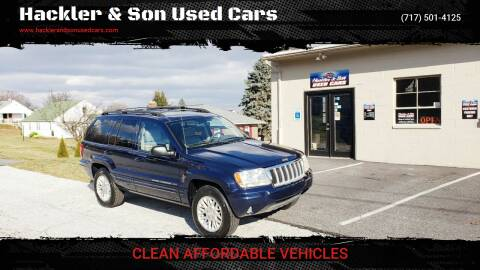 2004 Jeep Grand Cherokee for sale at Hackler & Son Used Cars in Red Lion PA