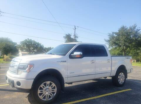 2013 Ford F-150 for sale at Rons Auto Sales in Stockdale TX