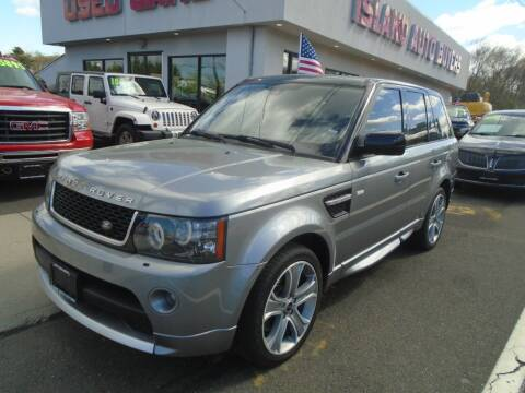 2012 Land Rover Range Rover Sport for sale at Island Auto Buyers in West Babylon NY