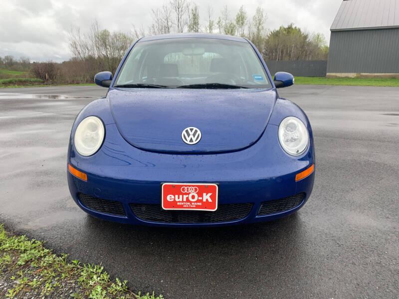 2008 Volkswagen New Beetle for sale at eurO-K in Benton ME