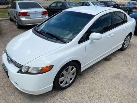 2007 Honda Civic for sale at Cash Car Outlet in Mckinney TX