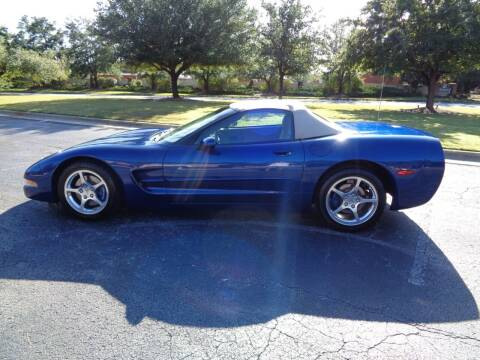 2004 Chevrolet Corvette for sale at BALKCUM AUTO INC in Wilmington NC