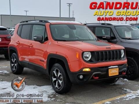 2019 Jeep Renegade for sale at Gandrud Dodge in Green Bay WI