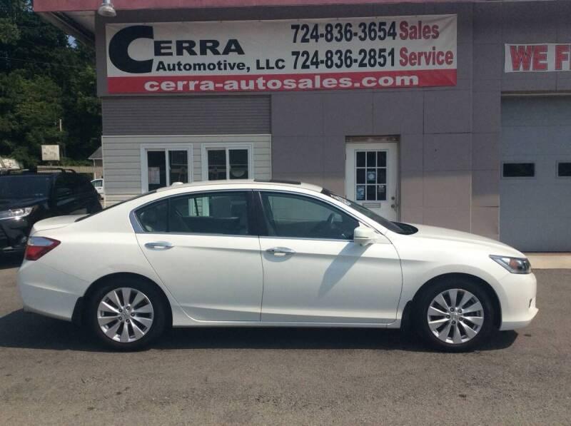 2015 Honda Accord for sale at Cerra Automotive LLC in Greensburg PA