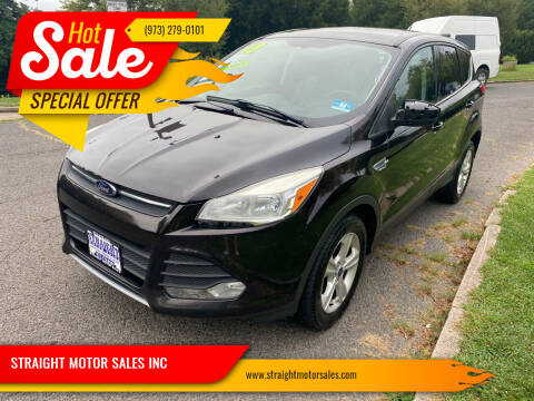 2013 Ford Escape for sale at STRAIGHT MOTOR SALES INC in Paterson NJ