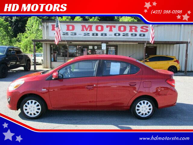 2017 Mitsubishi Mirage G4 for sale at HD MOTORS in Kingsport TN