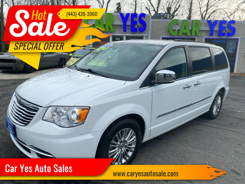 2015 Chrysler Town and Country for sale at Car Yes Auto Sales in Baltimore MD