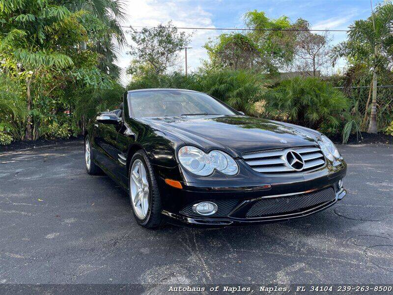 2007 Mercedes-Benz SL-Class for sale at Autohaus of Naples in Naples FL