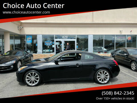 2008 Infiniti G37 for sale at Choice Auto Center in Shrewsbury MA