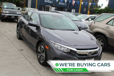 2017 Honda Civic for sale at Good Vibes Auto Sales in North Hollywood CA