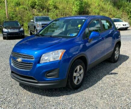 2015 Chevrolet Trax for sale at BSA Pre-Owned Autos LLC in Hinton WV