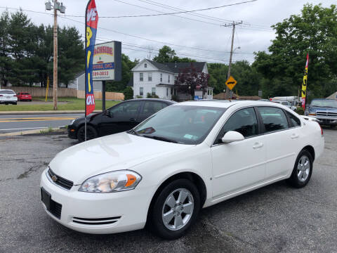 2008 Chevrolet Impala for sale at Beachside Motors, Inc. in Ludlow MA