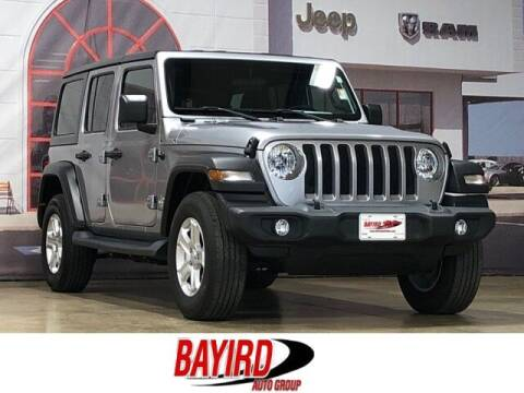 2018 Jeep Wrangler Unlimited for sale at Bayird Truck Center in Paragould AR