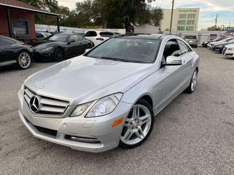 2012 Mercedes-Benz E-Class for sale at CHECK  AUTO INC. in Tampa FL
