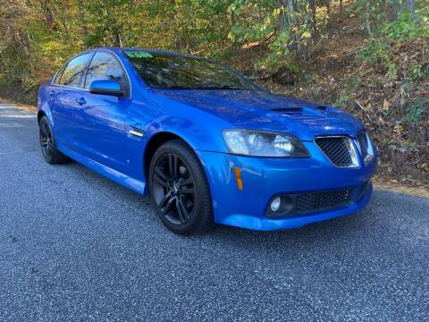2009 Pontiac G8 for sale at Lenoir Auto in Lenoir NC