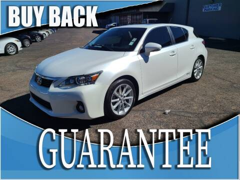 2012 Lexus CT 200h for sale at Reliable Auto Sales in Las Vegas NV