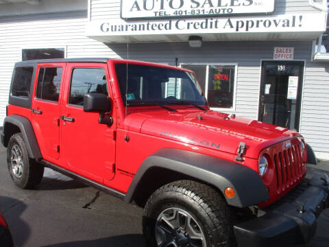 2015 Jeep Wrangler Unlimited for sale at Gold Star Auto Sales in Johnston RI