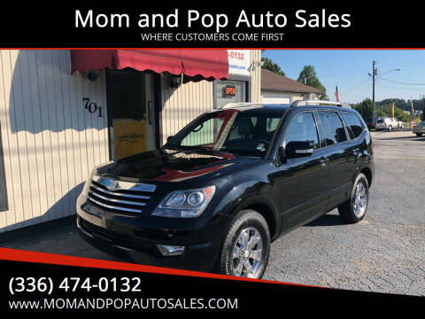 2009 Kia Borrego for sale at Mom and Pop Auto Sales LLC in Thomasville NC