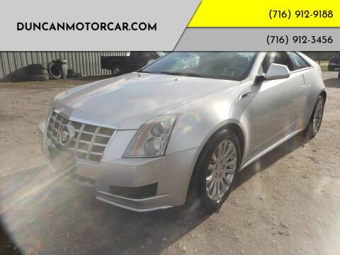 2014 Cadillac CTS for sale at DuncanMotorcar.com in Buffalo NY