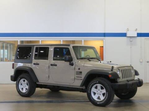 2018 Jeep Wrangler JK Unlimited for sale at Terry Lee Hyundai in Noblesville IN
