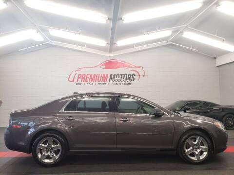 2012 Chevrolet Malibu for sale at Premium Motors in Villa Park IL