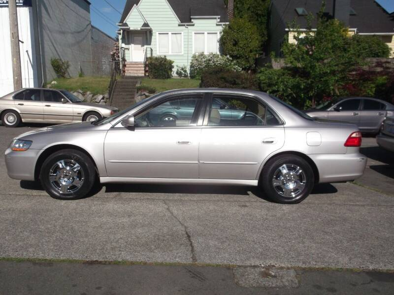 1998 Honda Accord for sale at UNIVERSITY MOTORSPORTS in Seattle WA