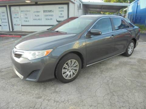 2012 Toyota Camry for sale at Automax Wholesale Group LLC in Tampa FL