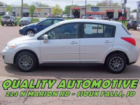 2010 Nissan Versa for sale at Quality Automotive in Sioux Falls SD