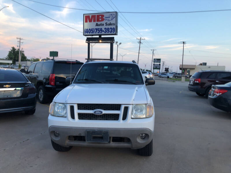 2002 Ford Explorer Sport Trac for sale at MB Auto Sales in Oklahoma City OK