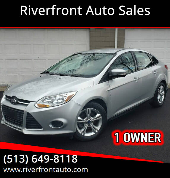 2014 Ford Focus for sale at Riverfront Auto Sales in Middletown OH