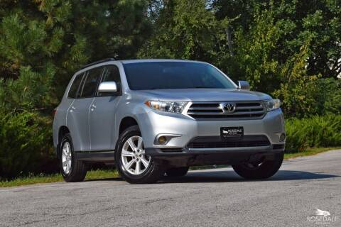 2011 Toyota Highlander for sale at Rosedale Auto Sales Incorporated in Kansas City KS
